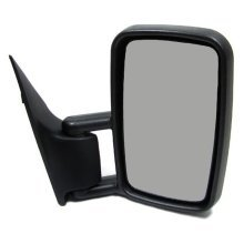 Mercedes Sprinter Van 1995-2006 Manual Wing Door Mirror Black Drivers Side