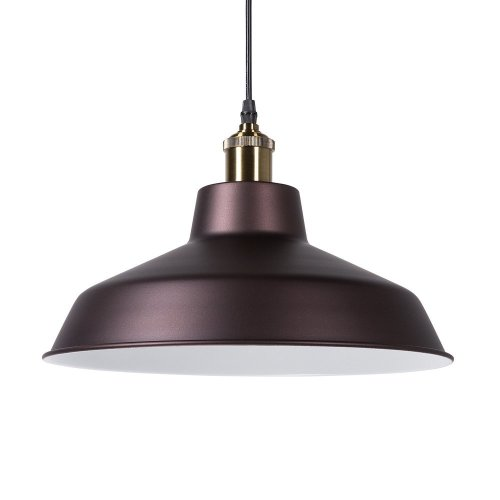 Pendant Light Metal Brown PECHORA