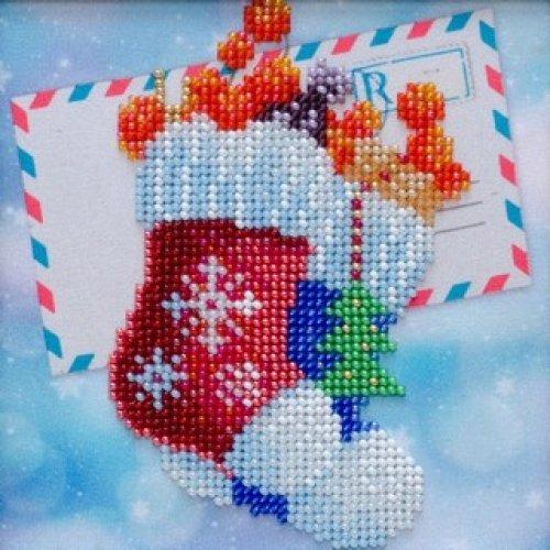 VDV Bead Embroidery Kit - Happy Holidays