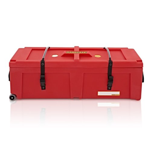 "Hardcase 40"" Hardware Case with Wheels, Red"