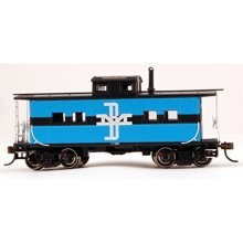 Bachmann Industries Boston & Maine #C-120 Northeast Steel Caboose (HO Scale Train)
