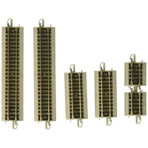 Bachmann Assortment Sections Straight Track (Short Pieces) - N Scale