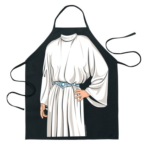 Apron - Star Wars - Princess Leia Gown Character Licensed New 14171