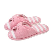 (Made By Cotton)Skidproof The Simple Style Of Home Slippers(Pink)