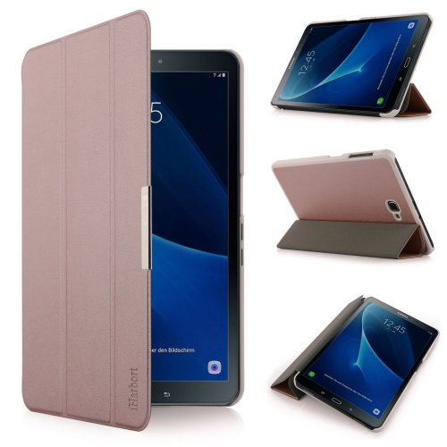 Samsung Galaxy Tab A 10.1 Case - Lightweight Smart-shell Holder, Rose Gold