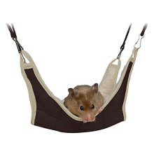Trixie Hammock For Mice/hamsters, 18 x 18 Centimeter - Hamster Mice Hamsters -  hammock trixie 18 hamster mice hamsters small rodents hanging bed
