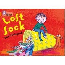 Collins Big Cat - The Lost Sock: Band 06/Orange (Paperback)