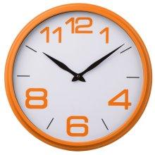 Premier Housewares Wall Clock - Orange