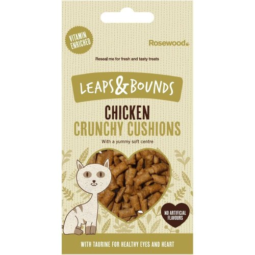 Leaps & Bounds Chicken Crunchy Cushions 60g