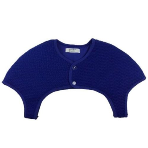 Shoulder Support Unisex Thick Cotton Shoulder Warmers Clothing Shrugs XXL Size(Blue)