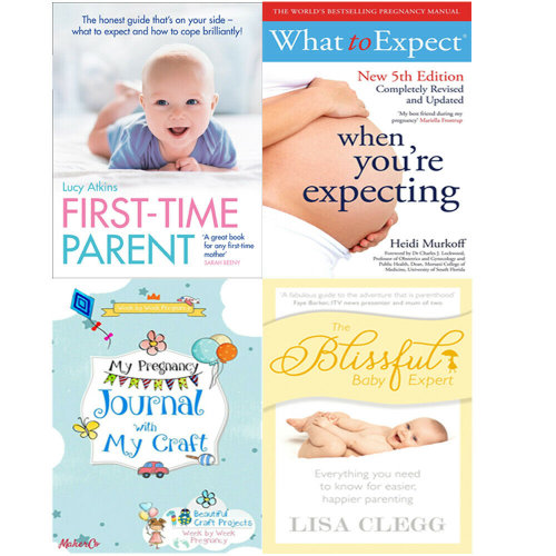 The Blissful Baby Expert,First-Time Parent 4 Books Collection Set
