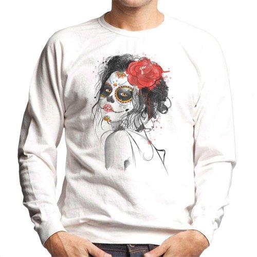 Dia De Los Muertos Day Of The Dead Men's Sweatshirt