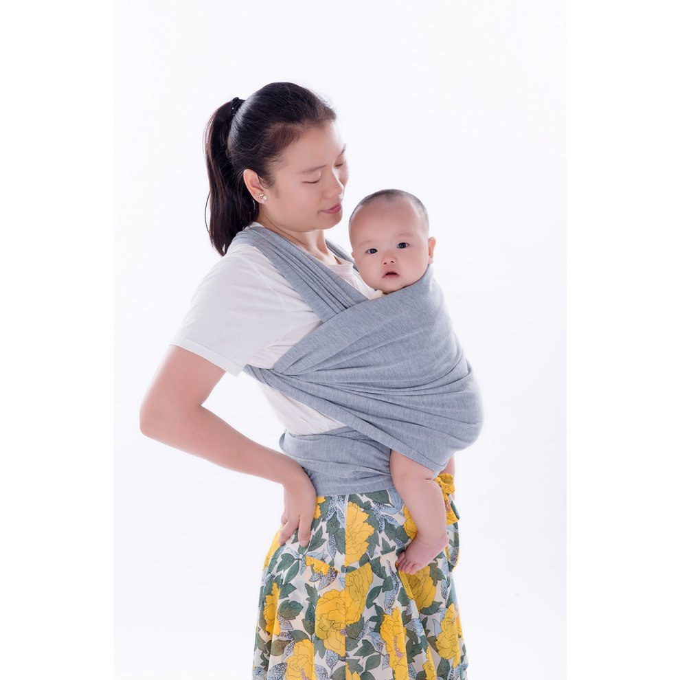 df48ef3fbe2 ... Emwel Baby Wrap Carrier Adjustable Breastfeeding Cover Cotton Sling  Baby Carrier for Infants up to 35 ...