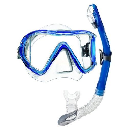 Head by Mares i3 Scuba Dive Mask Dry Snorkel Set