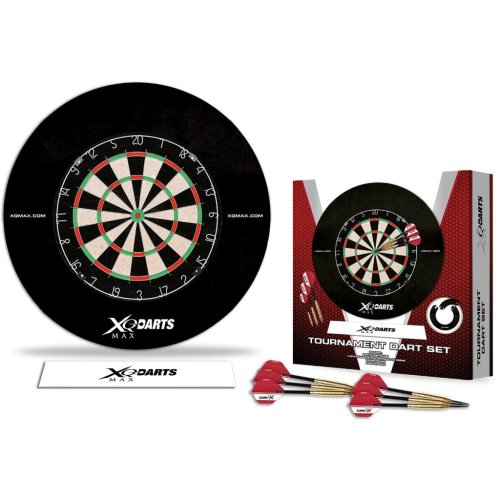 XQmax Darts Dartboard TournamentSet Surround Party Pub Bar Home Game QD7000400