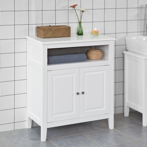 SoBuy® FRG204-W, Bathroom Storage Cabinet Storage Cupboard