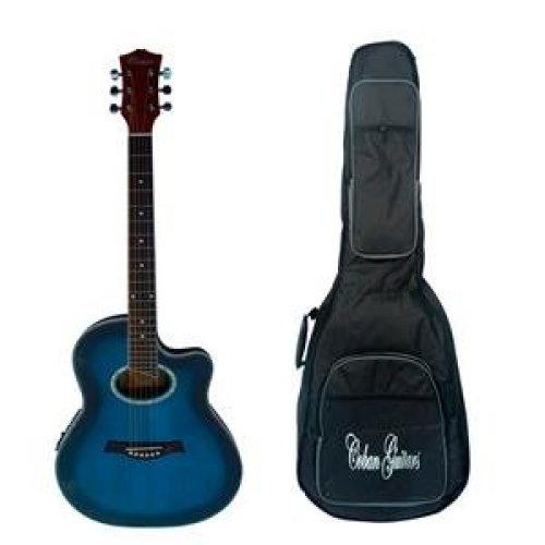 Coban Electro Acoustic Blue burst standard Roundback