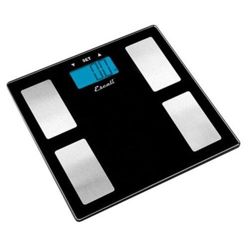 Escali USHM180G Glass Body Fat - Water - Muscle Mass Scale - 400Lb - 180 Kg