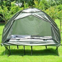 Outsunny 1 Person Foldable Bag Tent W/ Sleeping