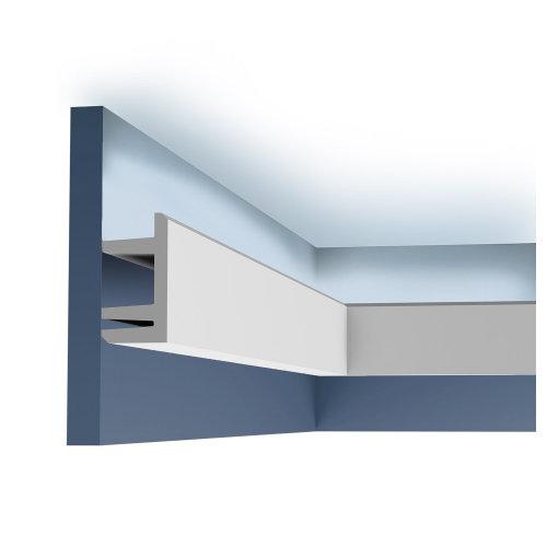 Orac Decor C381 MODERN L3 Cornice moulding for indirect lighting 2 m