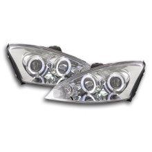 headlight Ford Focus Year 00-04 chrome