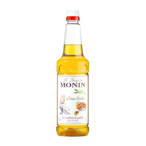 Monin Creme Brulee Coffee Syrup 1 Litre (plastic)