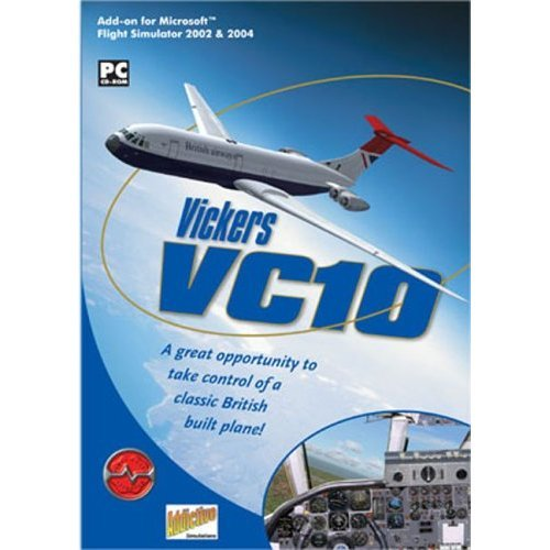 Vickers VC10 Add-On for FS 2002/2004 (PC CD)