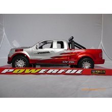 MAX Power Super Speed Truck - Silver & Red King-1 Racer