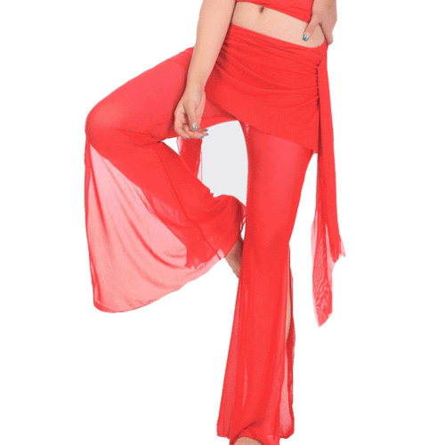 Red Belly Dance Tribal Pants Belly dance costume