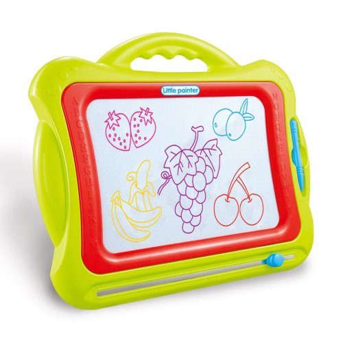 Little Painter Childrens Magnetic Doodle Board - Green