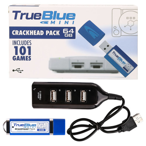 True Blue Mini Crackhead Pack for PlayStation Classic Games Toys