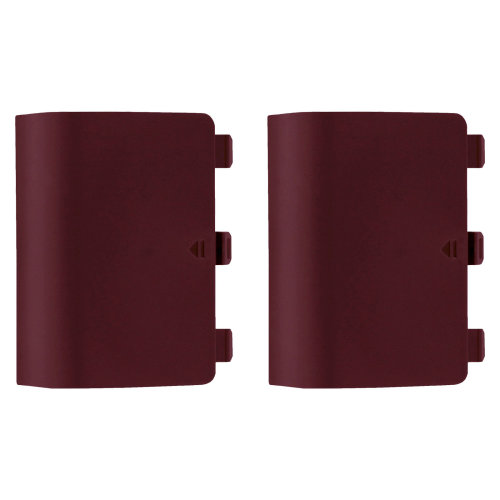 Battery cover for Xbox One Controller back replacement ZedLabz – 2 pack red wine