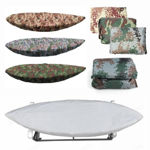 ZANLURE Kayak Storage Cover Fishing Boat Canoeing Waterproof UV Protector 3.8-4m/2.7-3m