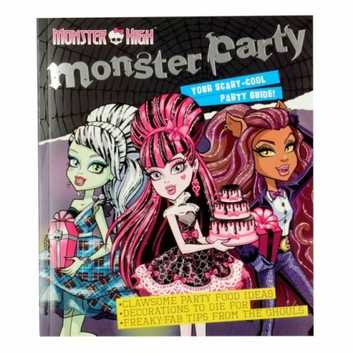 Monster high scary cool party guide
