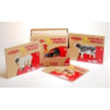 Thomas And Friends Trackmaster Sheds Playset - Wooden Puzzle Farm Animals - Wooden Puzzle Farm Animals