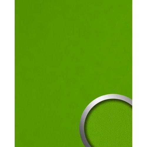 WallFace 20423 Antigrav APPLE GREEN Design panelling nappa leather look green
