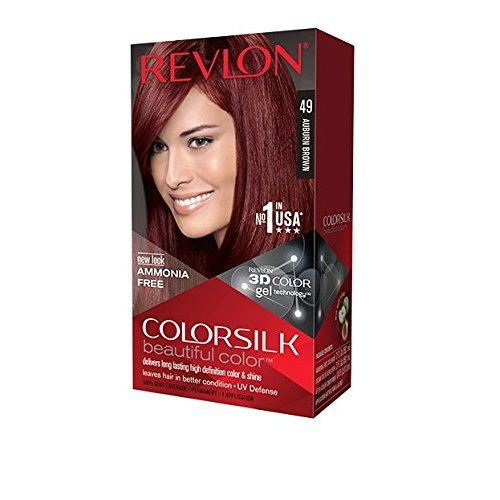 Revlon Colorsilk Haircolor, Auburn Brown