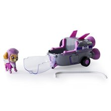 Nickelodeon Toy - Paw Patrol - Skye's Rocket Ship - Skye Figure and Vehicle Playset