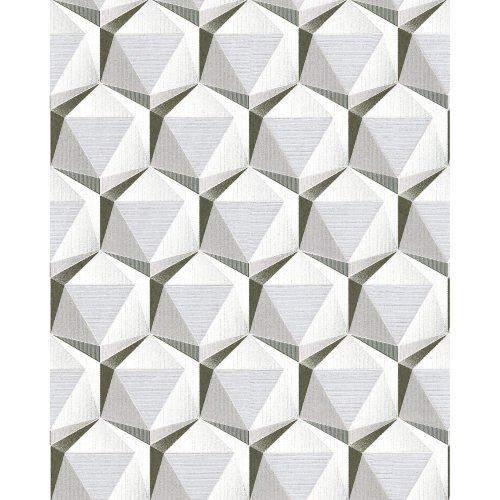 EDEM 1050-10 Retro wallpaper subtly glittering cream beige grey 5.33 sqm