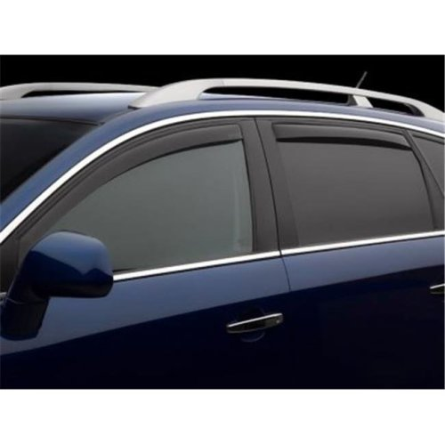 Weathertech W24-82575 Front & Rear Side Window Deflectors for 2011-2016 Mini Cooper, Dark Smoke