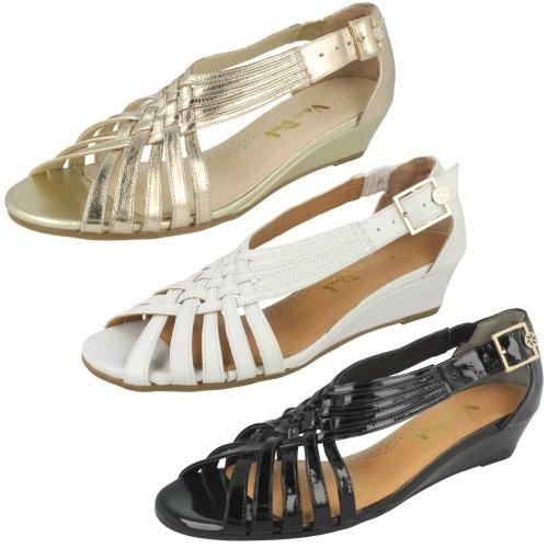 Ladies Van Dal Wedge Strappy Sandals Lucie - D Fit