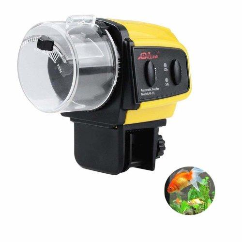 Electric Aquarium Automatic Fish Feeder, Auto Fish Food Dispenser for Fish Tank