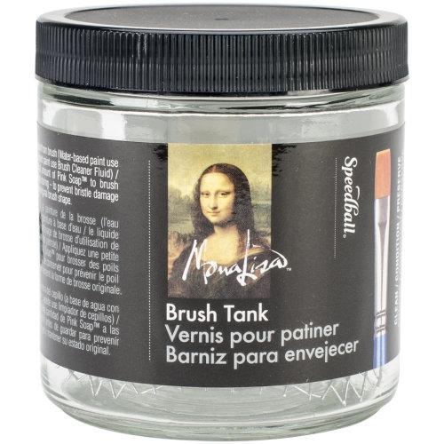 Mona Lisa Artist Brush Cleaning Tank-16oz