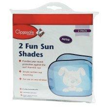 Clippasafe Fun Sun Screens (2 Pack)