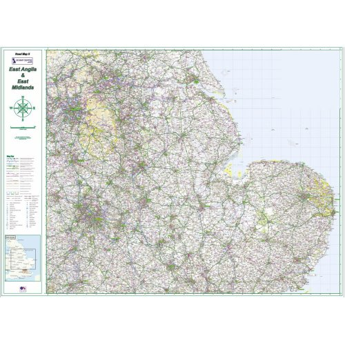 Road Map 5 East Midlands & East Anglia
