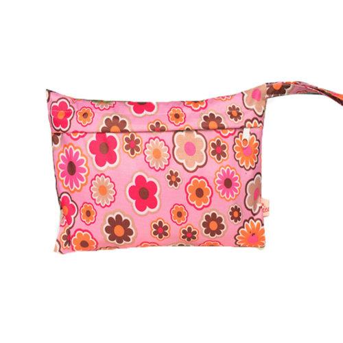 Travel Cloth Diaper Wet Bags Waterproof Diaper Bag Nappy Bag(28*18CM, C)