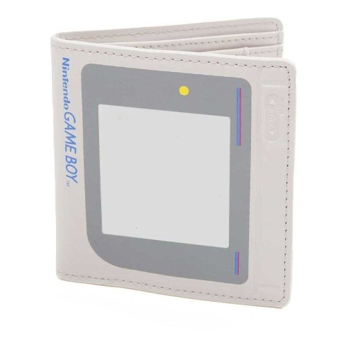 Nintendo Original Unisex Gameboy 3D Bi-Fold Wallet One Size - White