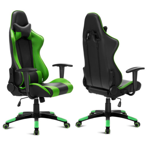 Green Computer Racing Gaming Sports Lift Chair