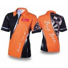XQmax Darts BvdP Replica Match Shirt Orange Size XL QD9200250