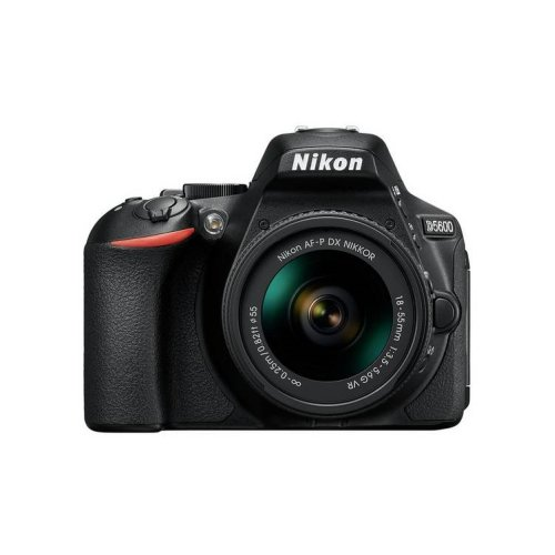 Nikon D5600 DSLR Camera & AF-P DX NIKKOR 18-55mm f/3.5-5.6G VR Lens Kit